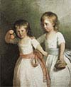 Portrait of Two Children
